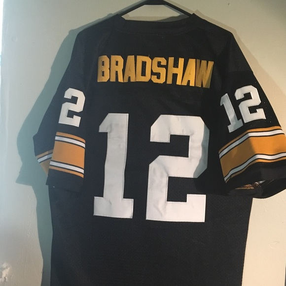 "new concept 6a775 8ca00 Terry Bradshaw #12 / year 1975 ""Authentic"" Jersey"